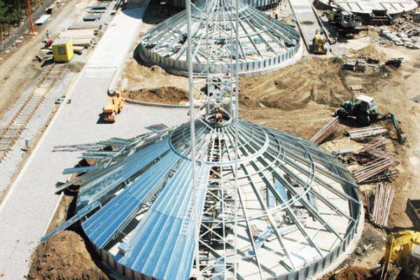 Стан будівництва елеватора філії <b>«Артемівська»</b>, 12.06.2010 (фоторепортаж)