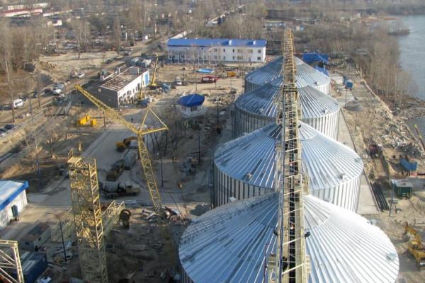 Стан будівництва елеватора філії <b>«Кременчуцька»</b>, 25.11.2010 (фоторепортаж)