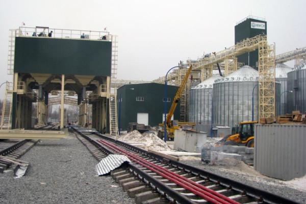 Стан будівництва елеватора філії <b>«Кременчуцька»</b>, 02.12.2010 (фоторепортаж)