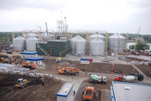 Стан будівництва елеватора філії <b>«Градизька»</b>, 28.05.2010 (фоторепортаж)
