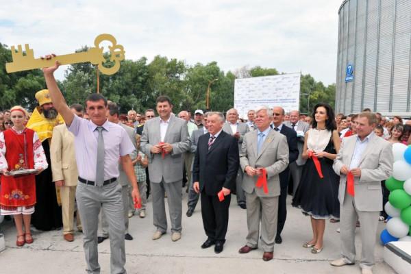 <b>Аграрная элита Украины открыла 3-ий терминал НИБУЛОНа на Днепре</b>