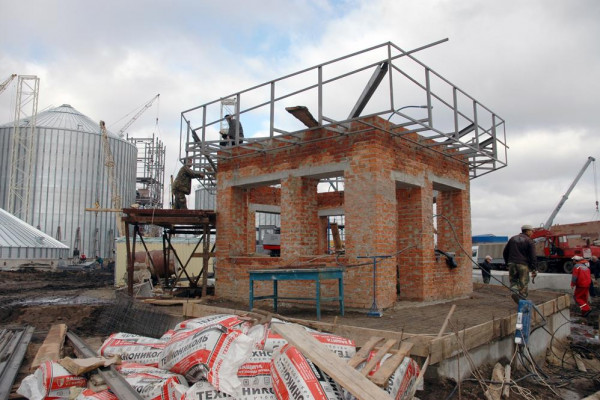 Стан будівництва елеватора філії <b>«Мар'янівська»</b>, 03.09.2010 (фоторепортаж)