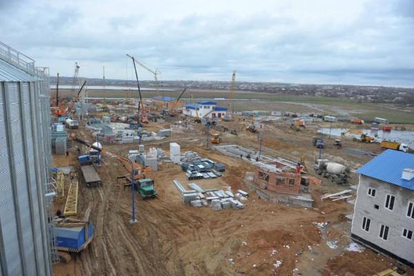 Стан будівництва елеватора філії <b>«Новоодеська»</b>, 07.12.2010 (фоторепортаж)