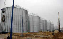 Стан будівництва елеватора філії <b>«Новоодеська»</b>, 14.12.2010 (фоторепортаж)