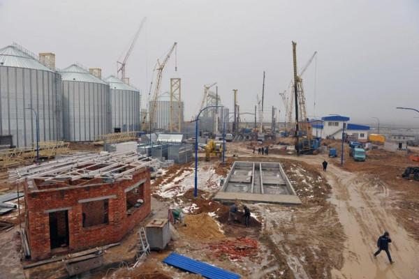 Стан будівництва елеватора філії <b>«Новоодеська»</b>, 21.12.2010 (фоторепортаж)