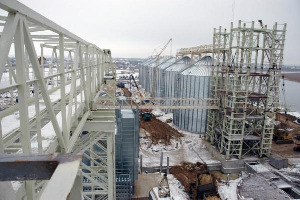 Стан будівництва елеватора філії <b>«Новоодеська»</b>, 05.01.2011 (фоторепортаж)