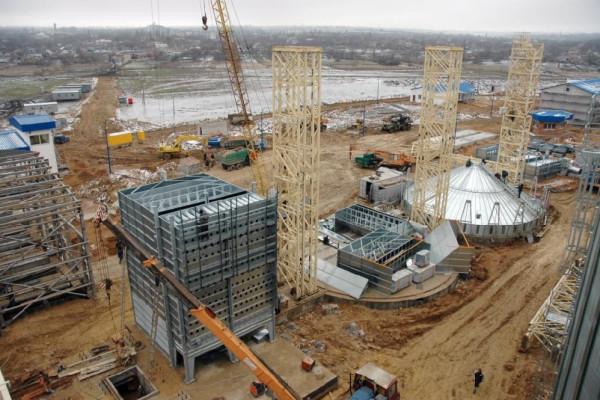 Стан будівництва елеватора філії <b>«Новоодеська»</b>, 11.01.2011 (фоторепортаж)
