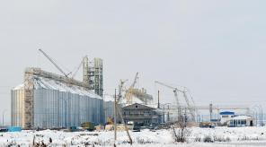 Стан будівництва елеватора філії <b>«Новоодеська»</b>, 25.01.2011 (фоторепортаж)