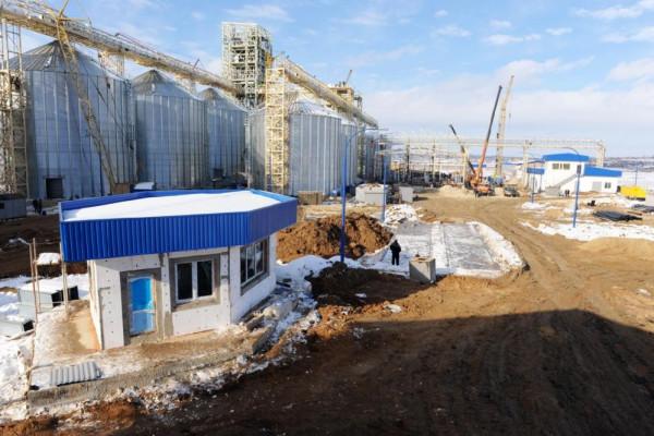 Стан будівництва елеватора філії <b>«Новоодеська»</b>, 01.02.2011 (фоторепортаж)