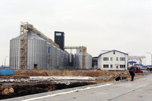Стан будівництва елеватора філії <b>«Новоодеська»</b>, 01.03.2011 (фоторепортаж)