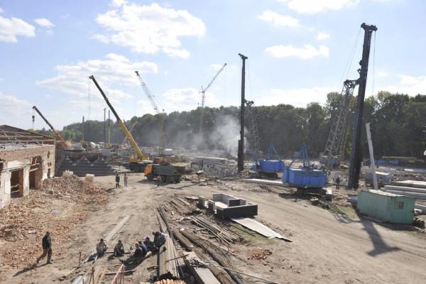 <b>Стан будівництва елеватора філії Тетерів на 16.09.2011</b>