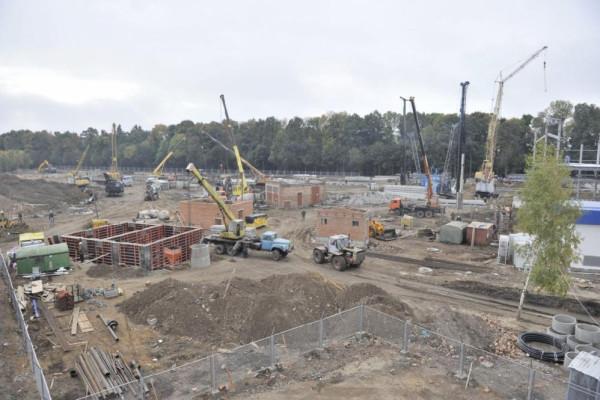 <b>Стан будівництва елеватора філії Тетерів на 30.09.2011</b>