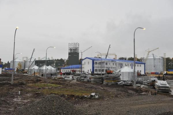 <b>Стан будівництва елеватора філії Тетерів на 21.10.2011</b>