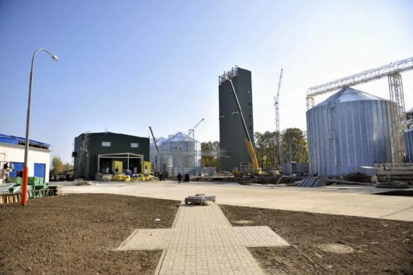 <b>Стан будівництва елеватора філії Тетерів на 28.10.2011</b>