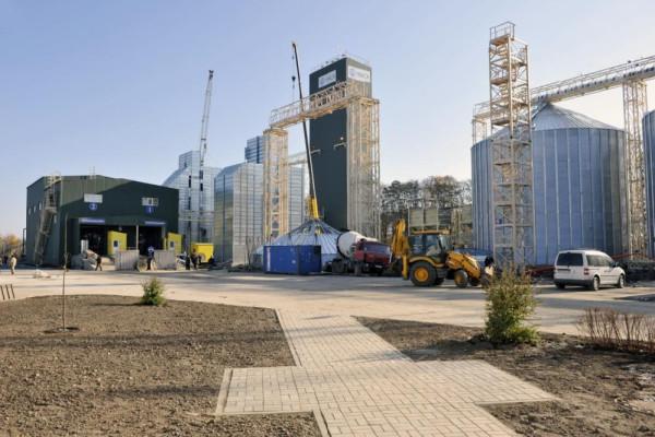 <b>Стан будівництва елеватора філії Тетерів на 04.11.2011</b>