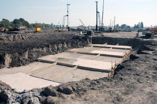 <b>Стан будівництва елеватора філії Денихівська на 22.09.2011</b>