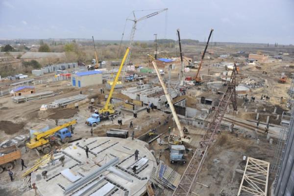 <b>Стан будівництва елеватора філії Денихівська на 20.10.2011</b>