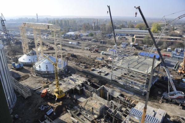 <b>Стан будівництва елеватора філії Денихівська на 27.10.2011</b>