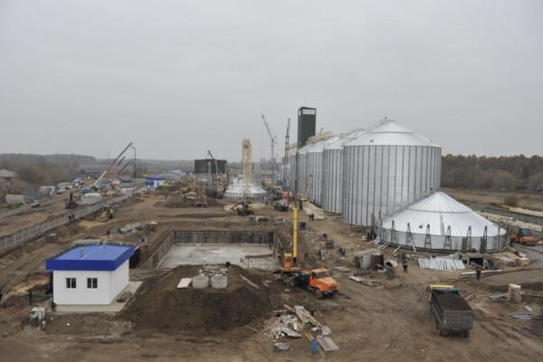 <b>Стан будівництва елеватора філії Денихівська на 03.11.2011</b>