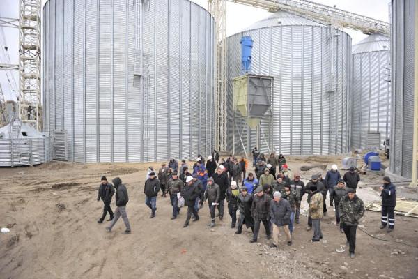 <b>Стан будівництва філії «Денихівська» на 10.11.2011</b>