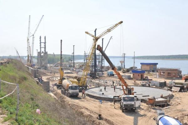 <b>Стан будівництва перевантажувального термінала філії «Переяславська» на 03.05.2012</b>