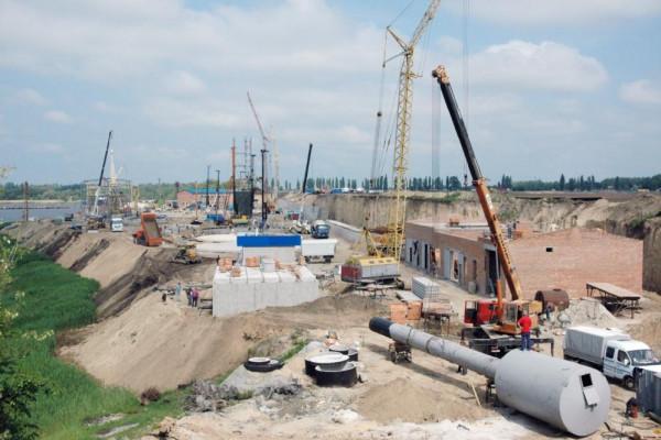 <b>Стан будівництва перевантажувального термінала філії «Переяславська» на 10.05.2012</b>
