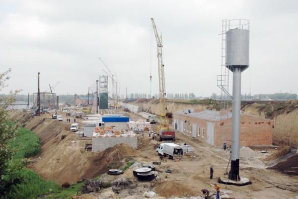 <b>Стан будівництва перевантажувального термінала філії «Переяславська» на 16.05.2012</b>