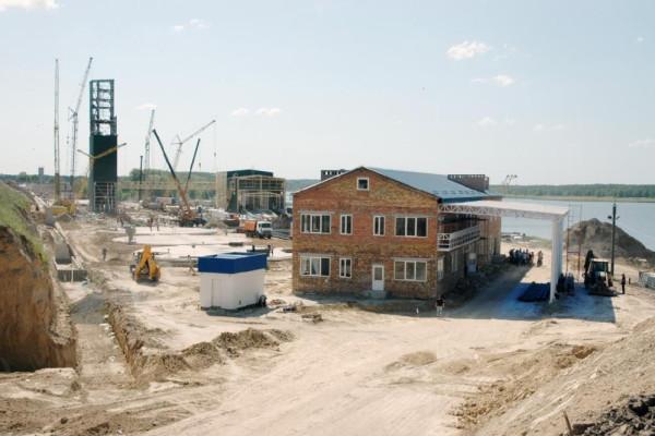 <b>Стан будівництва перевантажувального термінала філії «Переяславська» на 23.05.2012</b>