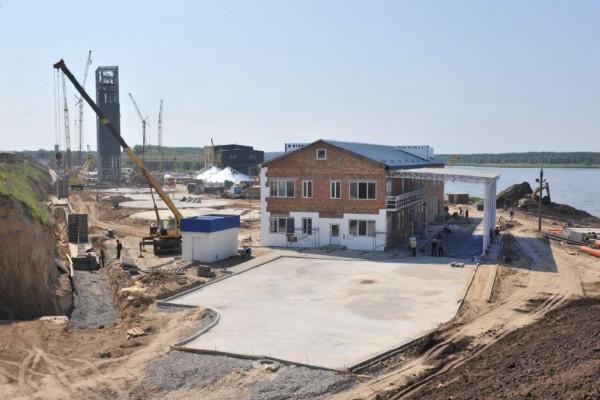 <b>Стан будівництва перевантажувального термінала філії «Переяславська» на 30.05.2012</b>
