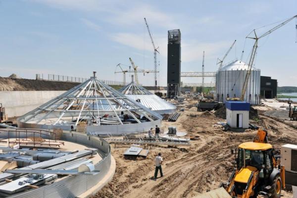 <b>Стан будівництва перевантажувального термінала філії «Переяславська» на 06.06.2012</b>