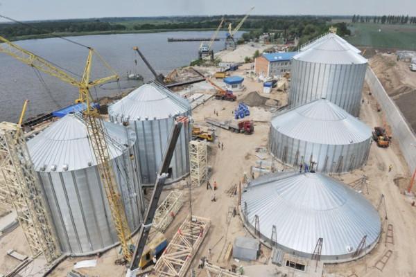 <b>Стан будівництва перевантажувального термінала філії «Переяславська» на 13.06.2012</b>