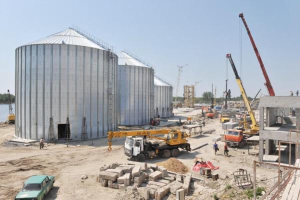 <b>Стан будівництва перевантажувального термінала філії «Козацька» на 04.05.2012</b>