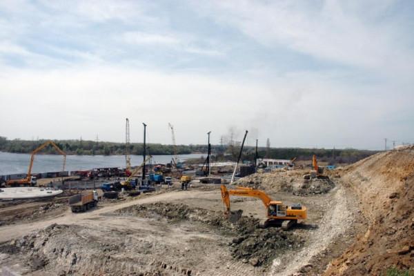 <b>Стан будівництва перевантажувального термінала філії «Козацька» на 20.04.2012</b>