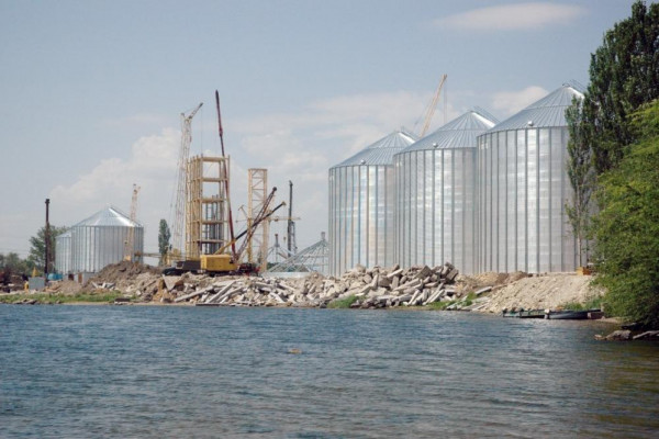 <b>Стан будівництва перевантажувального термінала філії «Козацька» на 11.05.2012</b>