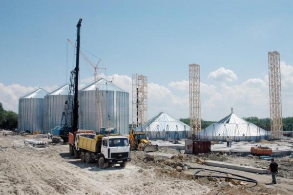 <b>Стан будівництва перевантажувального термінала філії «Козацька» на 18.05.2012</b>