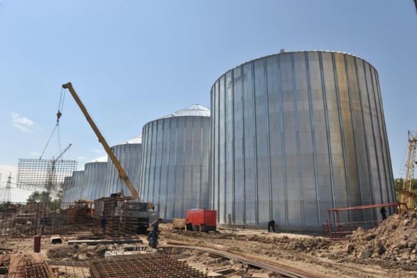<b>Стан будівництва перевантажувального термінала філії «Козацька» на 01.06.2012</b>