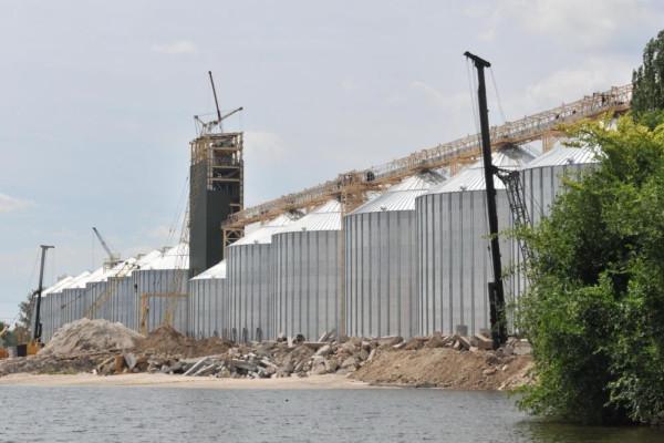 <b>Стан будівництва перевантажувального термінала філії «Козацька» на 08.06.2012</b>