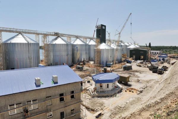 <b>Стан будівництва перевантажувального термінала філії «Козацька» на 12.06.2012</b>