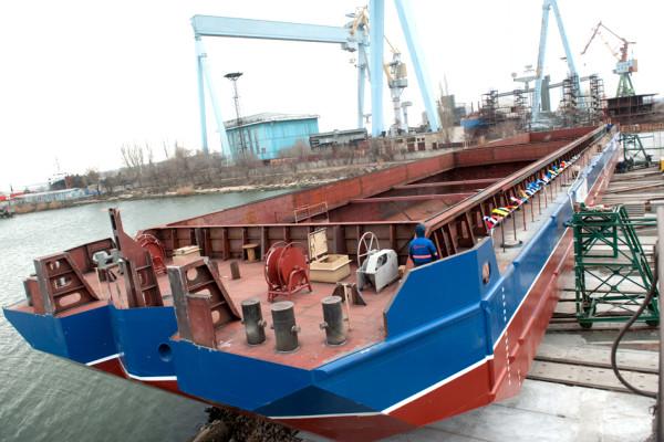 Напередодні Нового року «НІБУЛОН» спустив на воду чергове судно проекту NBL-91