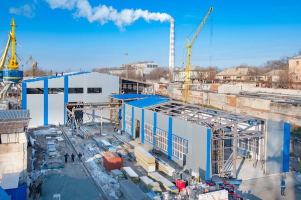«НІБУЛОН» завершує перший етап модернізації власного суднобудівно-судноремонтного заводу