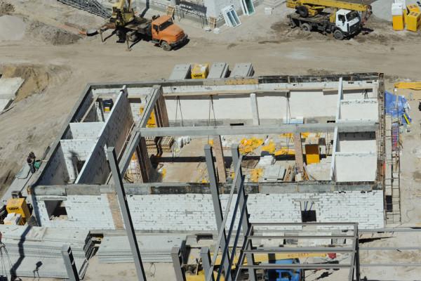 Будівництво перевантажувального термінала на Запоріжжі: все чітко в термін та якісно