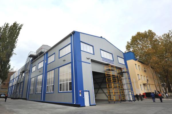 На суднобудівному заводі «НІБУЛОН» завершуються пусконалагоджувальні роботи в новому цеху