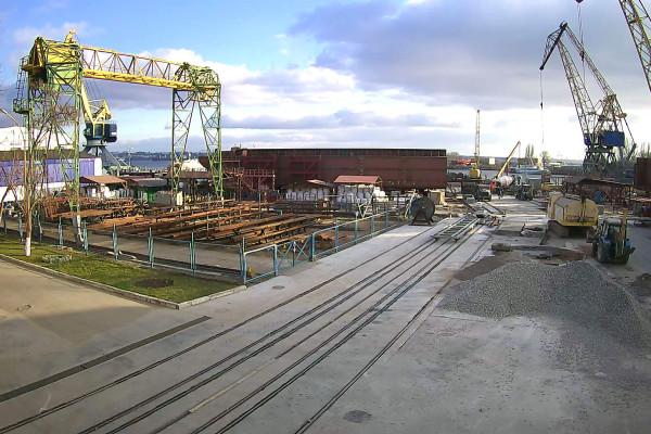 «НІБУЛОН»  завершує реконструкцію сліпу на суднобудівному заводі