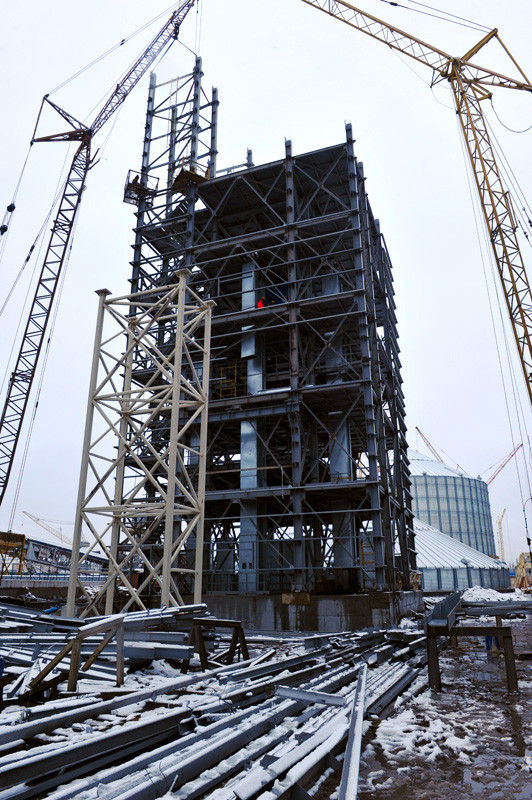 Будівництво нового комплексу компанії «НІБУЛОН» у Миколаєві дозволить збільшити частку річкових перевезень при транспортуванні зерна