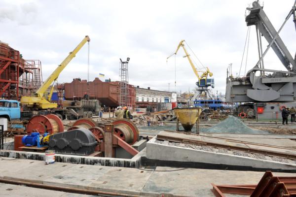 Реконструкція сліпу підніме на новий рівень суднобудівний завод «НІБУЛОН»