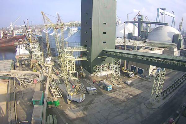 На будівельному майданчику нового елеваторного комплексу стартували пусконалагоджувальні роботи
