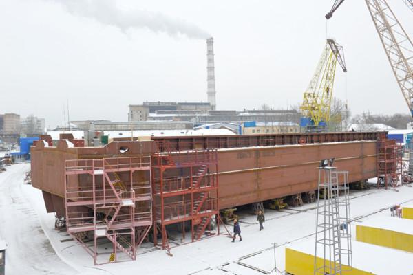 Будівництво сучасного флоту: на кожній дільниці все за графіком