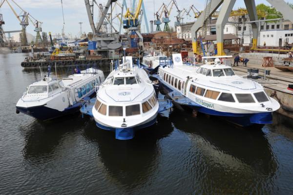 Суднобудівний завод «НІБУЛОН» завершує підготовку пасажирських суден до нового сезону перевезень