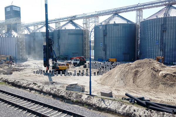 «НІБУЛОН» збільшує обсяги зберігання зерна філії «Кременчуцька»
