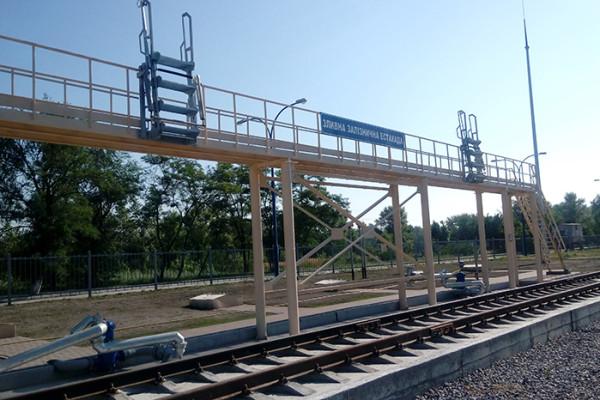 Паливозаправний пункт компанії у Кременчуці прийняв перші партії дизельного пального